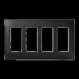 Ramka obudowy SIMON 500 4×S500 8×K45 szary grafit-255767