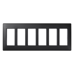 Ramka obudowy SIMON 500 6×S500 12×K45 szary grafit-255770