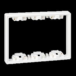 Element pogłębiający SIMON 500 3×S500 6×K45 czysta biel-255777