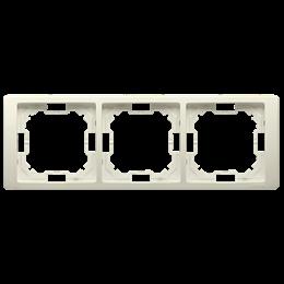 Ramka 3- krotna beżowy-253267