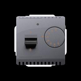 Regulator temperatury z czujnikiem wewnętrznym srebrny mat, metalizowany-254272