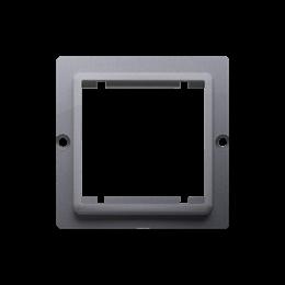 Adapter przejściówka na osprzęt standardu 45×45 mm srebrny mat, metalizowany-254291