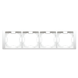 Ramka 4- krotna biały-253282