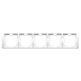 Ramka 5- krotna biały-253306