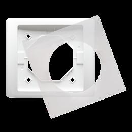 Ramka 1- krotna IP44 biały-253231