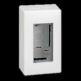 Obudowa natynkowa SIMON 500 1×S500 2×K45 czysta biel-255783
