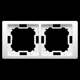 Ramka 2- krotna biały-253244