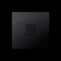 Zaślepka bez mostka grafit mat, metalizowany-254314