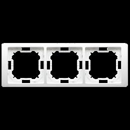 Ramka 3- krotna biały-253268