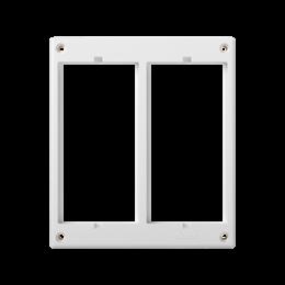 Ramka osprzętowa SIMON 500 2×S500 (element zapasowy) czysta biel-255993