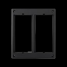 Ramka osprzętowa SIMON 500 2×S500 (element zapasowy) szary grafit-255994