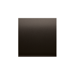 Klawisz pojedynczy do łączników i przycisków brąz mat, metalizowany-251963