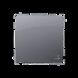 Łącznik krzyżowy (moduł) 10AX 250V, zaciski śrubowe, srebrny mat, metalizowany-253544