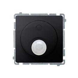 Łącznik z czujnikiem ruchu z przekaźnikiem grafit mat, metalizowany-254259