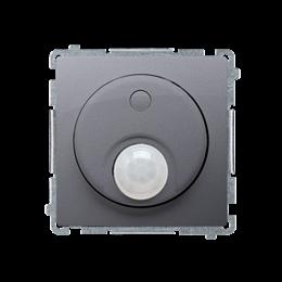 Łącznik z czujnikiem ruchu z przekaźnikiem srebrny mat, metalizowany-254260