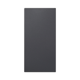 Zaślepka SIMON 500 100×50mm szary grafit-256567