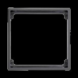 Adapter SIMON 500 1× K45 50×50mm szary grafit-256222