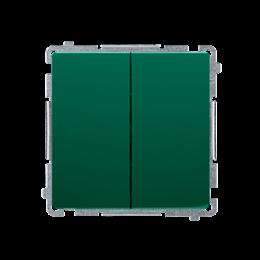 Łącznik świecznikowy (moduł) 10AX 250V, szybkozłącza, zielony-253423
