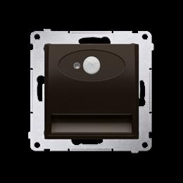 Oprawa oświetleniowa LED z czujnikiem ruchu, 14V brąz mat, metalizowany-252885