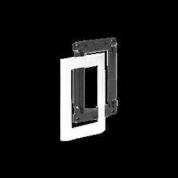 Suport z maskownicą do kolumn i minikolumn ALC 2×K45 1×S500 czysta biel-256069