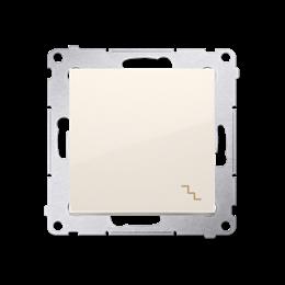 Łącznik schodowy (moduł) 10AX 250V, szybkozłącza, kremowy-252055
