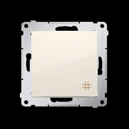Łącznik krzyżowy (moduł) 10AX 250V, szybkozłącza, kremowy-252093