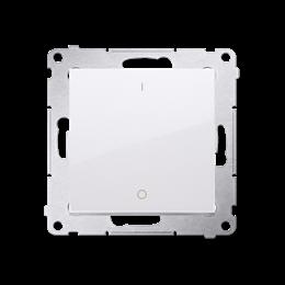Łącznik dwubiegunowy (moduł) 16AX 250V, zaciski śrubowe, biały-252322