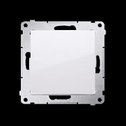 Przycisk pojedynczy rozwierny bez piktogramu bez piktogramu (moduł) 10AX 250V, szybkozłącza, biały-252184