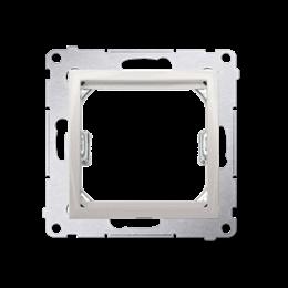 Adapter przejściówka na osprzęt standardu 45×45 mm kremowy-253124