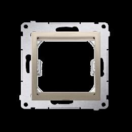 Adapter przejściówka na osprzęt standardu 45×45 mm złoty mat, metalizowany-253126