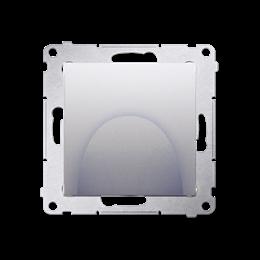 Wyjście kablowe srebrny mat, metalizowany-253119