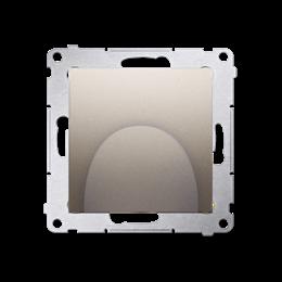 Wyjście kablowe złoty mat, metalizowany-253120