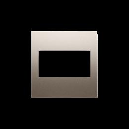 Zaślepka bez mostka złoty mat, metalizowany-253138