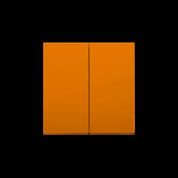 Klawisz podwójny do łączników i przycisków pomarańczowy-251985