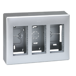 Obudowa natynkowa SIMON 500 3×S500 6×K45 aluminium-255790