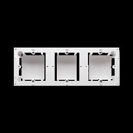 Puszka natynkowa 3-krotna biały-253384