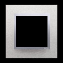 Ramka 1- krotna metalowa inox klasyczny-251468