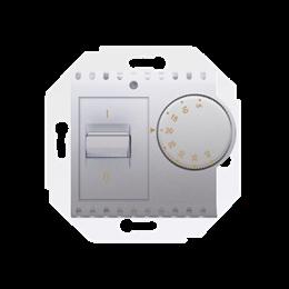 Regulator temperatury z czujnikiem wewnętrznym srebrny mat, metalizowany-252767