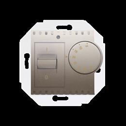 Regulator temperatury z czujnikiem wewnętrznym złoty mat, metalizowany-252768