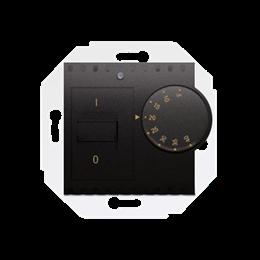 Regulator temperatury z czujnikiem wewnętrznym antracyt, metalizowany-252769