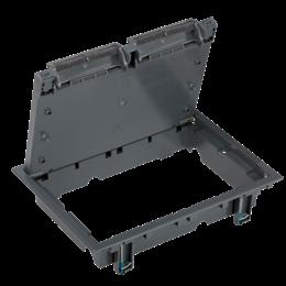Pokrywa rewizyjna SF prostokątna odpowiednik:SF6xx szary-255963