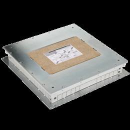Kaseta do wylewki z metalu SF kwadratowa 75mm÷90mm-255972