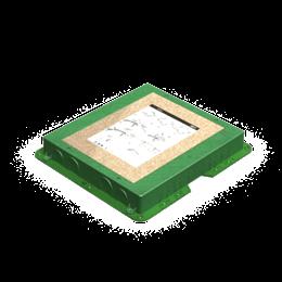 Kaseta do wylewki z tworzywa KF prostokątna-255902
