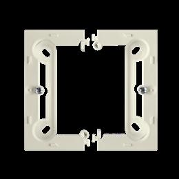 Puszka natynkowa pojedyncza składana beżowy-253373