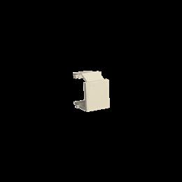 Zaślepka otworu wtyku RJ45/RJ12  pokrywy gniazda teleinformatycznego beżowy-254183