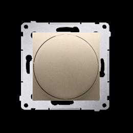 Ściemniacz naciskowo-obrotowy złoty mat, metalizowany-252643