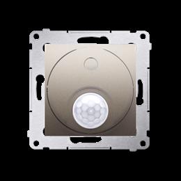 Łącznik z czujnikiem ruchu z przekaźnikiem złoty mat, metalizowany-252695