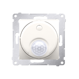 Łącznik z czujnikiem ruchu z przekaźnikiem do obiektów użyteczności publicznej kremowy-252716