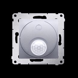 Łącznik z czujnikiem ruchu z przekaźnikiem do obiektów użyteczności publicznej srebrny mat, metalizowany-252717