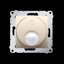 Łącznik z czujnikiem ruchu z przekaźnikiem do obiektów użyteczności publicznej złoty mat, metalizowany-252718